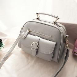 Женская кожаная сумка модная