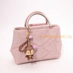 Новинка 2017. Модная женская сумка. Цвет розовый.